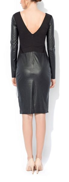 MAIOCCI Collection Longsleeve Fitted Dress