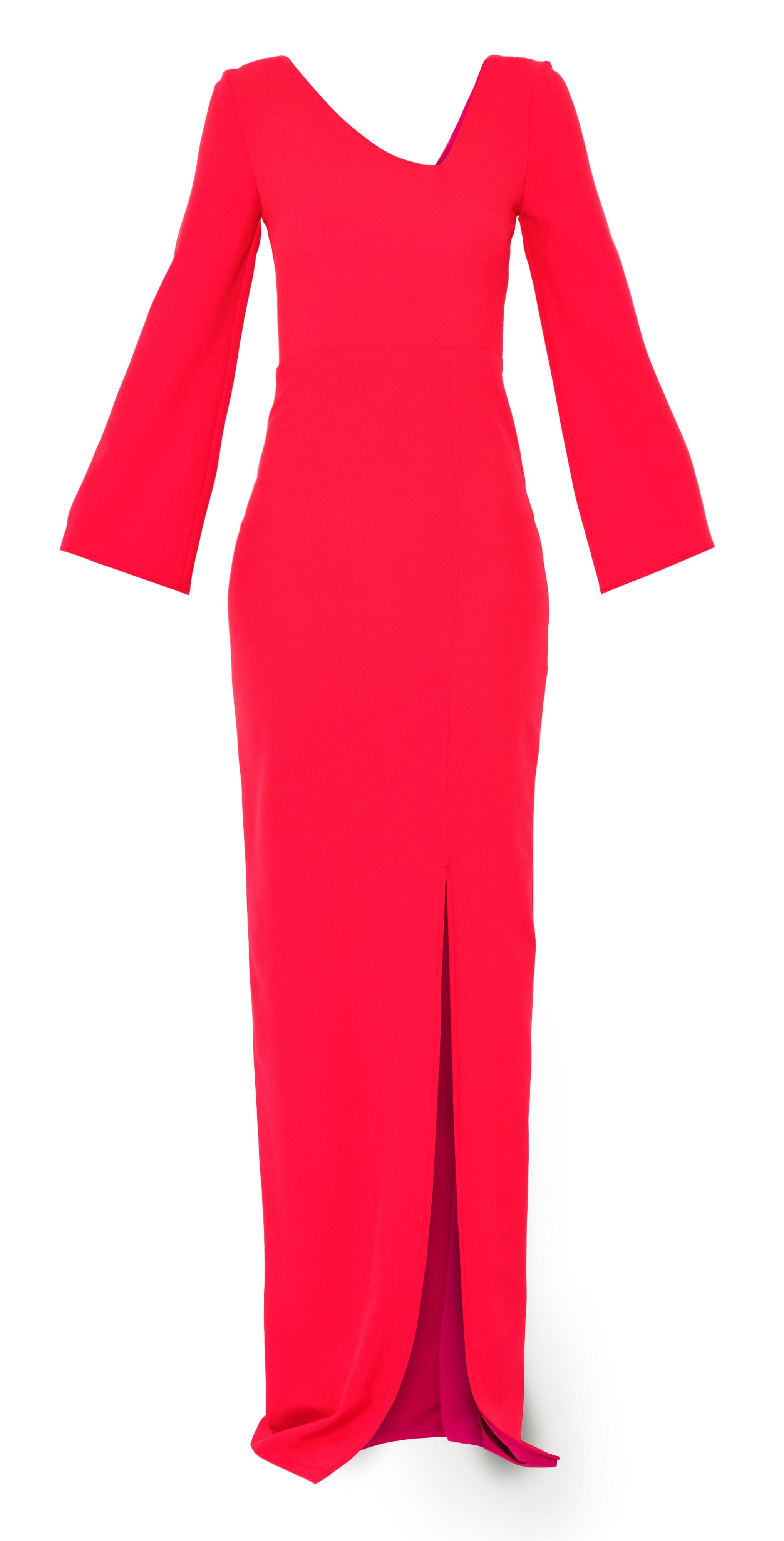 MAIOCCI Collection MAIOCCI Collection Long Evening Dress, Red