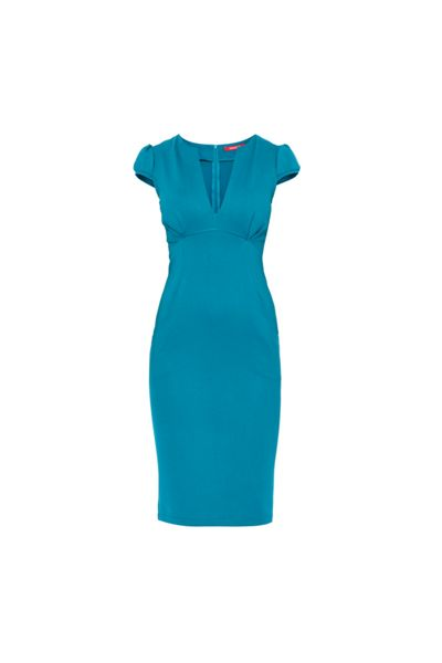 MAIOCCI Collection Bodycon Dress with Pockets