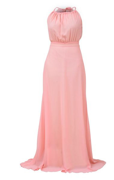 MAIOCCI Collection Backless Maxi Dress