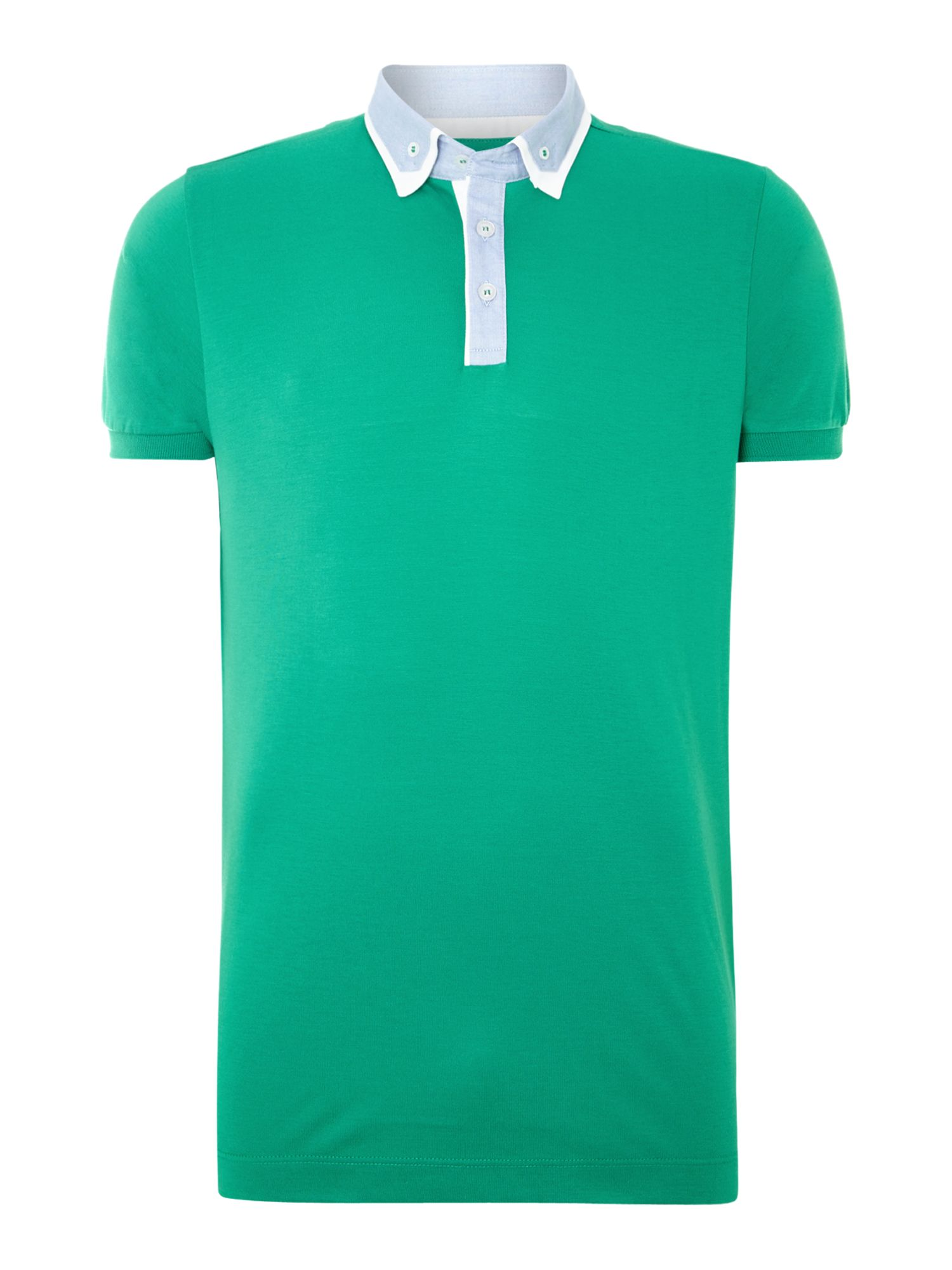Regular fit polo shirt with collar