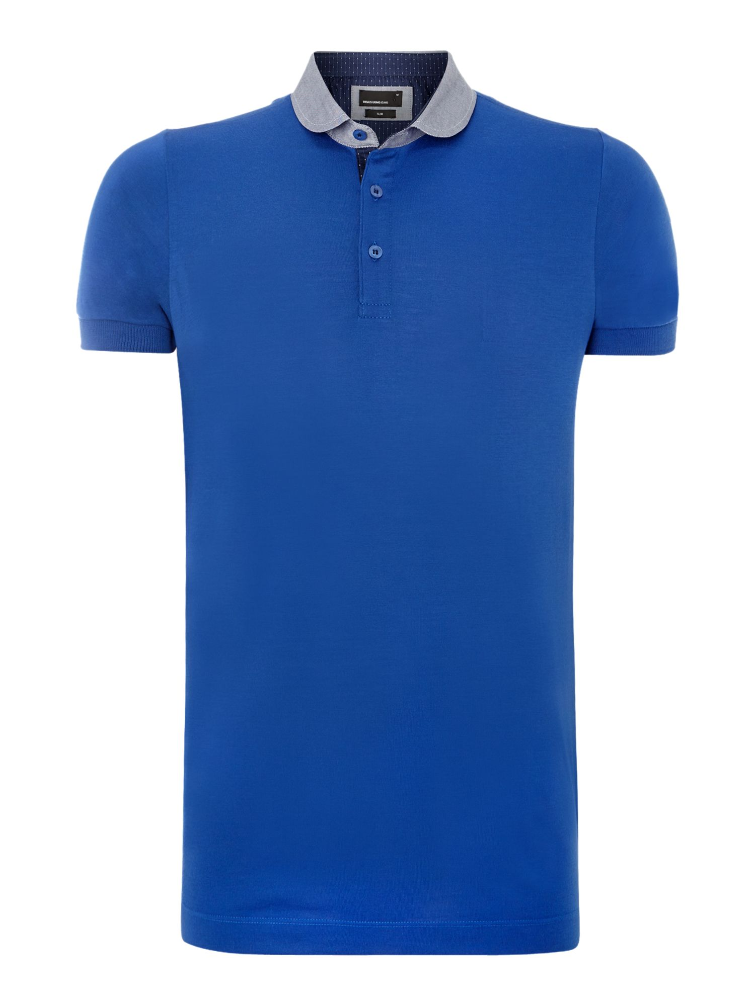 Penny round collar polo shirt