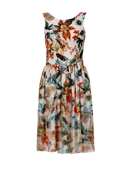 MAIOCCI Collection Backless Flare Dress