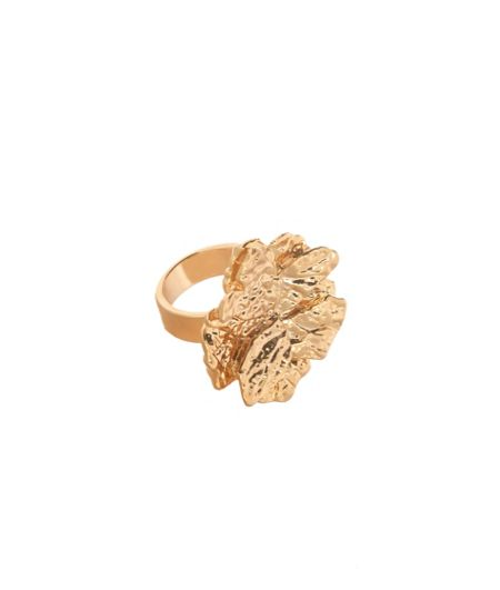 MAIOCCI Collection Gold flower ring
