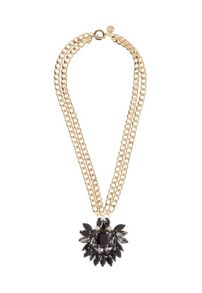 MAIOCCI Collection Mauka black hand made necklace
