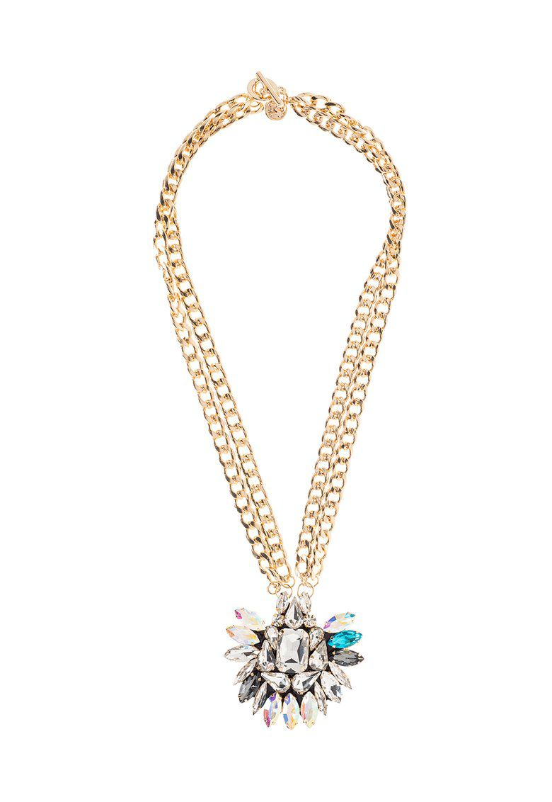 MAIOCCI Collection MAIOCCI Collection Mauka glittering hand made necklace, Clear