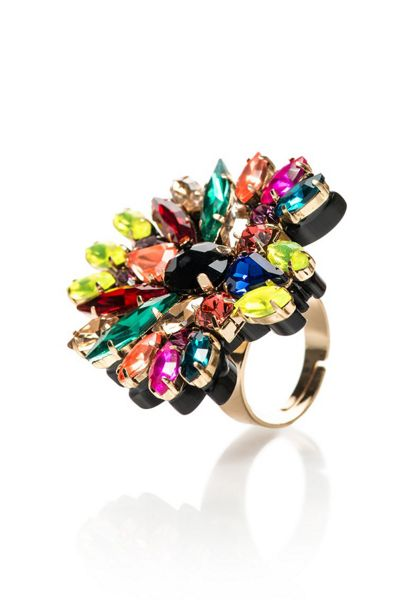 MAIOCCI Collection Marra multicolour hand made ring