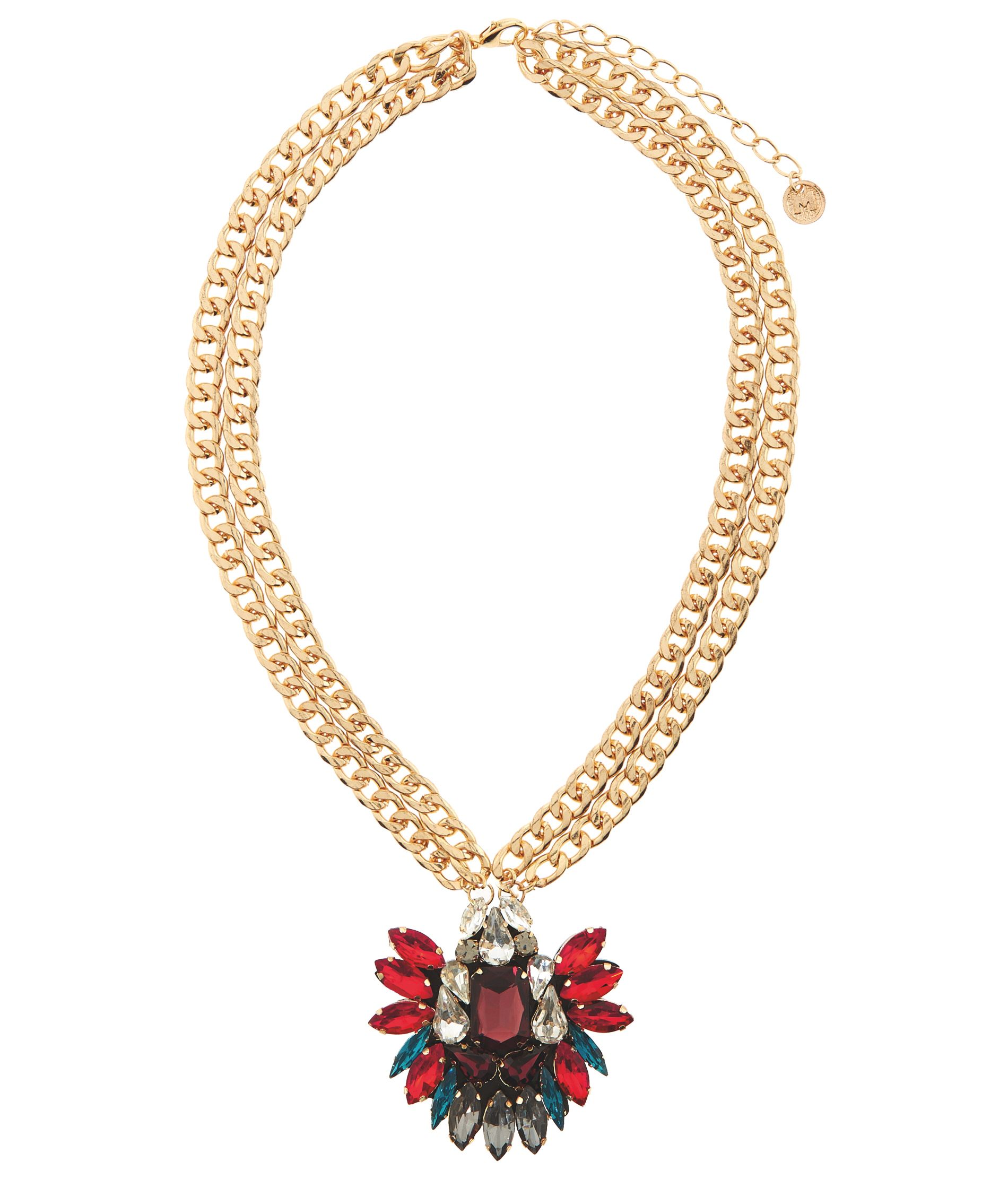 MAIOCCI Collection MAIOCCI Collection Mauka deep red hand made necklace, Red