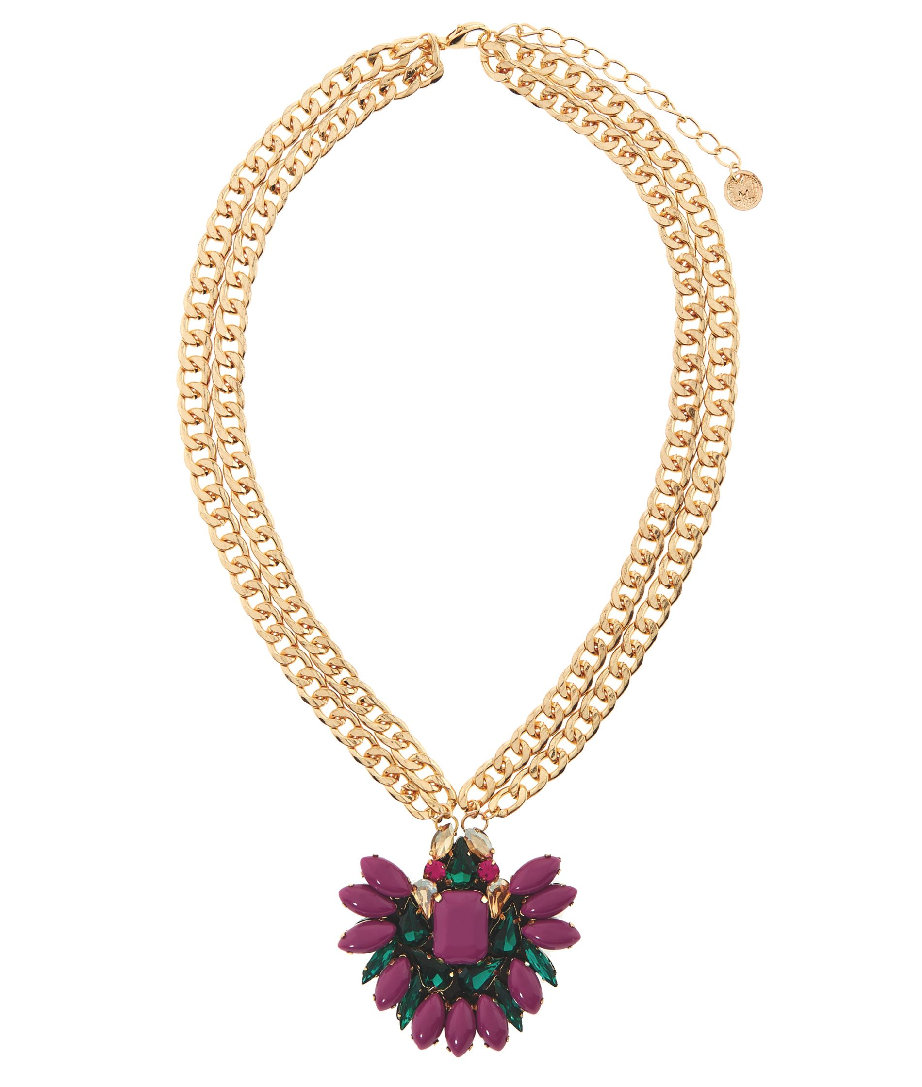 MAIOCCI Collection MAIOCCI Collection Mauka purple hand made necklace, Purple