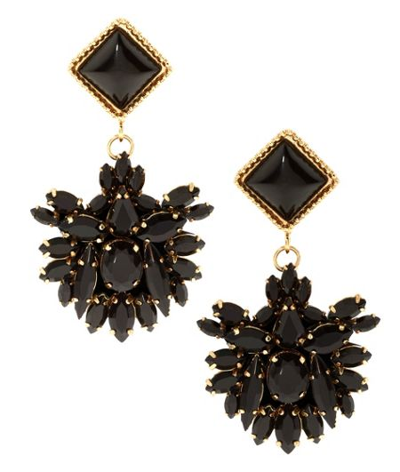 MAIOCCI Collection Meras black hand made earrings