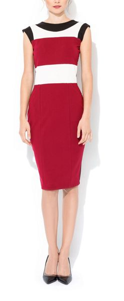 MAIOCCI Collection Colour blocked Bodycon Dress
