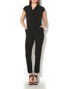MAIOCCI Collection Wrap over Jumpsuit