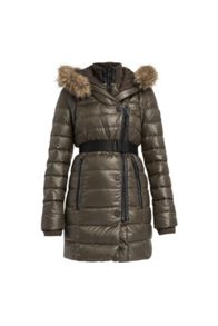Roseann quilted down coat