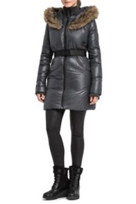 Catherine mid-length down coat