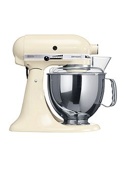 Artisan 4.8L Stand Mixer, Almond Cream