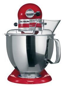 Artisan 4.8L Stand Mixer, Empire Red