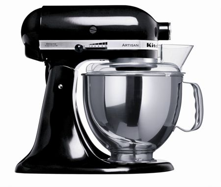 KitchenAid Artisan 4.8L Stand Mixer, Onyx Black