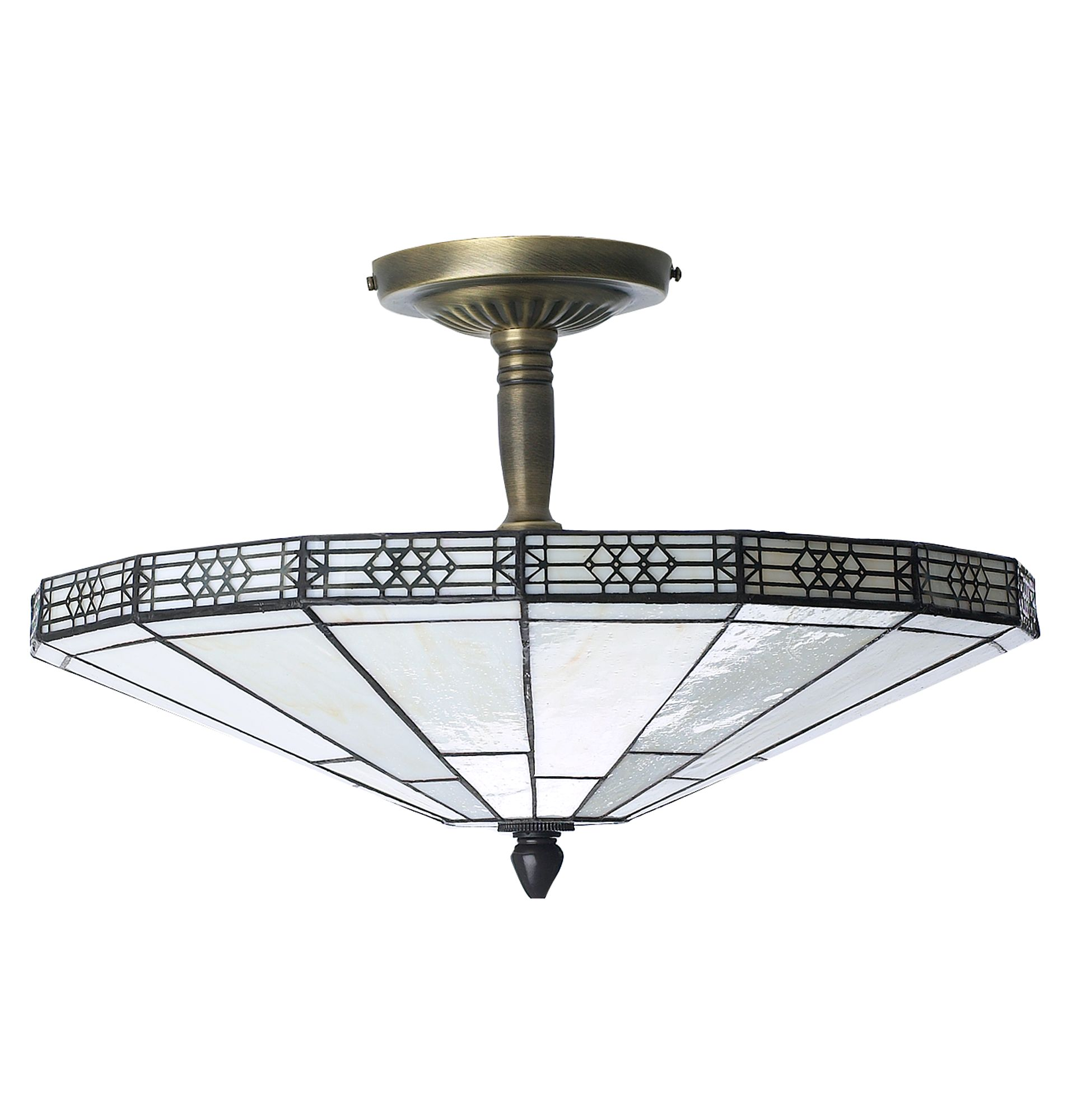 New York Tiffany ceiling light by House of Fraser