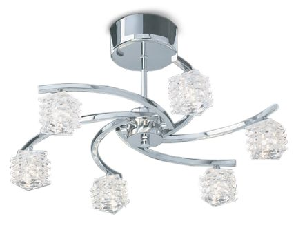 Glace ceiling light by House of Fraser