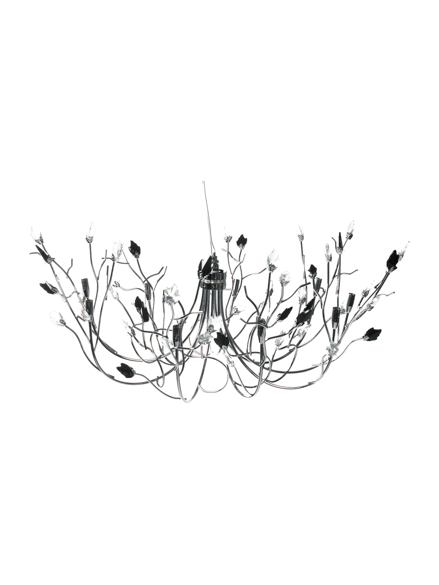 Willow 9 light ceiling light by House of Fraser
