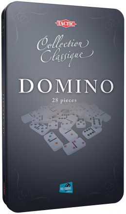 Domino Tin Box
