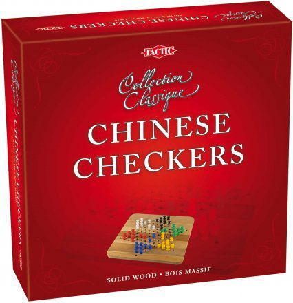 Chinese Checkers Wooden Game