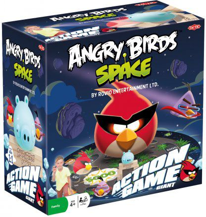 Angry Birds Space Action Game