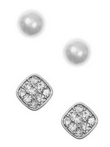Anne Klein Duo set of earrings