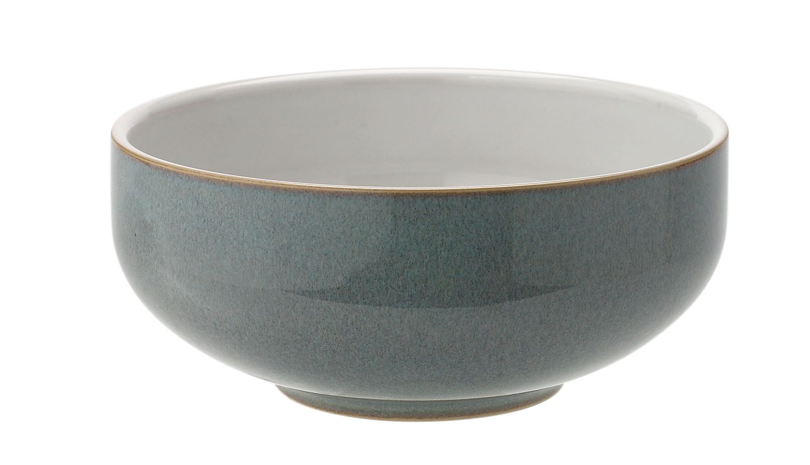 Jet grey cereal bowl