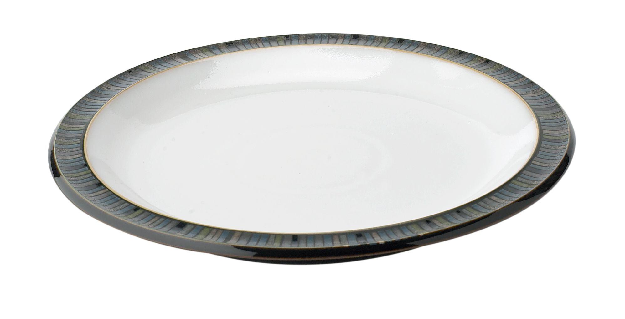 Jet Stripes Salad Plate