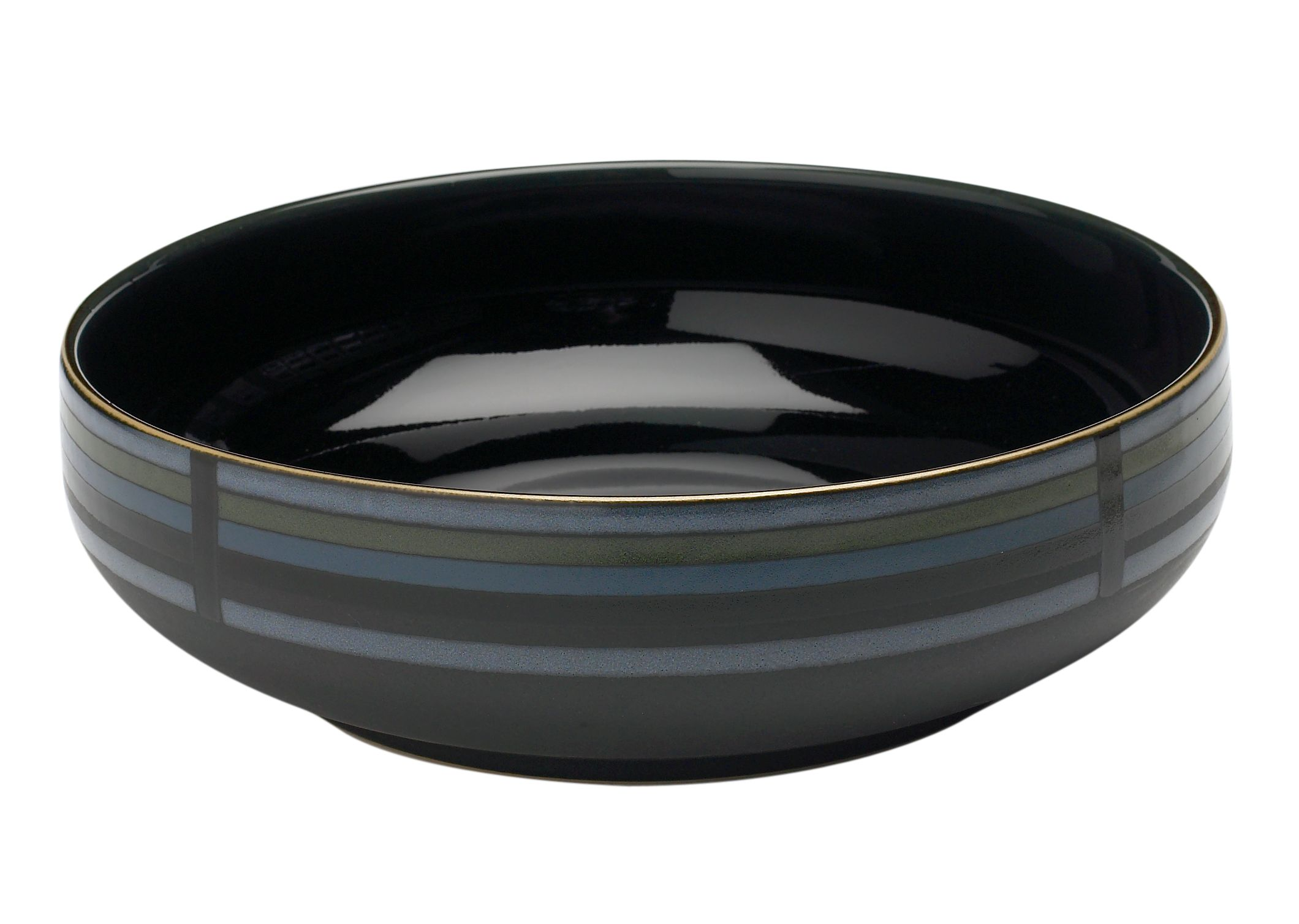 Jet Stripes Serving Bowl