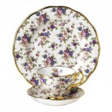100 years 1940 english chintz 3-piece set