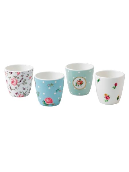 Royal Albert Giftware ceramic set of 4 eggcups