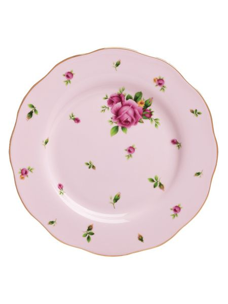 Royal Albert New country roses pink salad plate 20cm