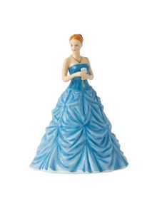 Royal Doulton Birthstone petites march - aquamarine