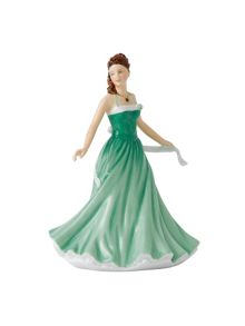 Royal Doulton Birthstone petites may - emerald
