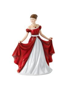 Royal Doulton Birthstone petites july - ruby