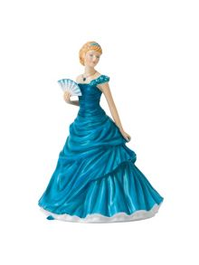 Royal Doulton Birthstone petites december - turquoise
