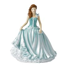 Royal Doulton Karen green figurine