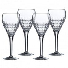 Richmond crystal box of 4 goblets