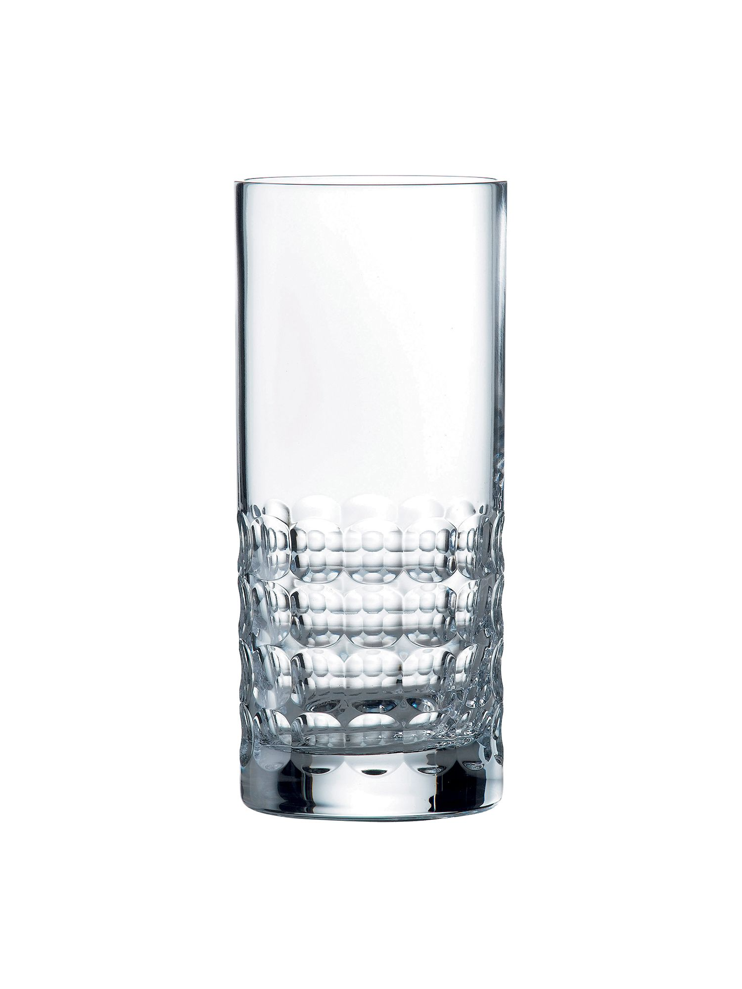 Richmond crystal box of 4 hi-ball glasses