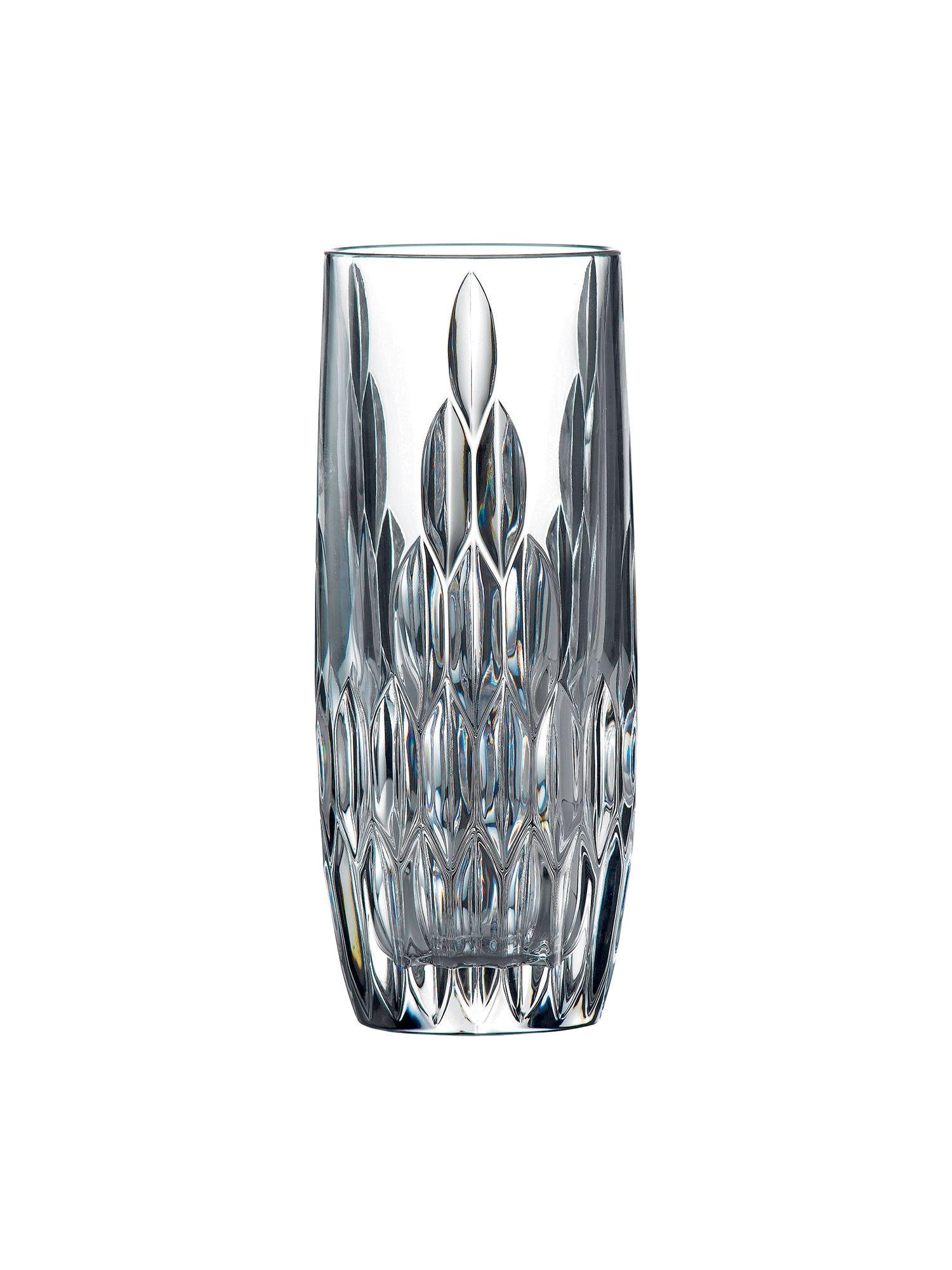 Retro crystal hi-ball glasses - box of 6
