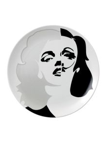 Limited edition pure evil ceramic plate marilyn m