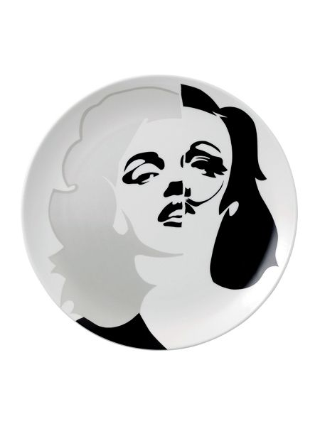 Royal Doulton Limited edition pure evil ceramic plate marilyn m