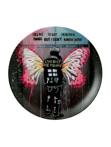 Limited edition pure evil ceramic plate beautiful