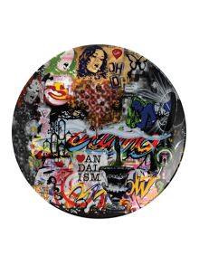 Limited edition nick walker ceramic plate mood bo
