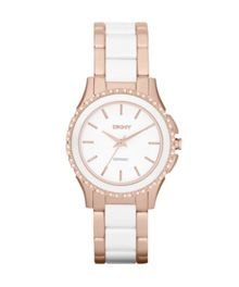 DKNY NY8821 Ceramic White Ladies Bracelet Watch