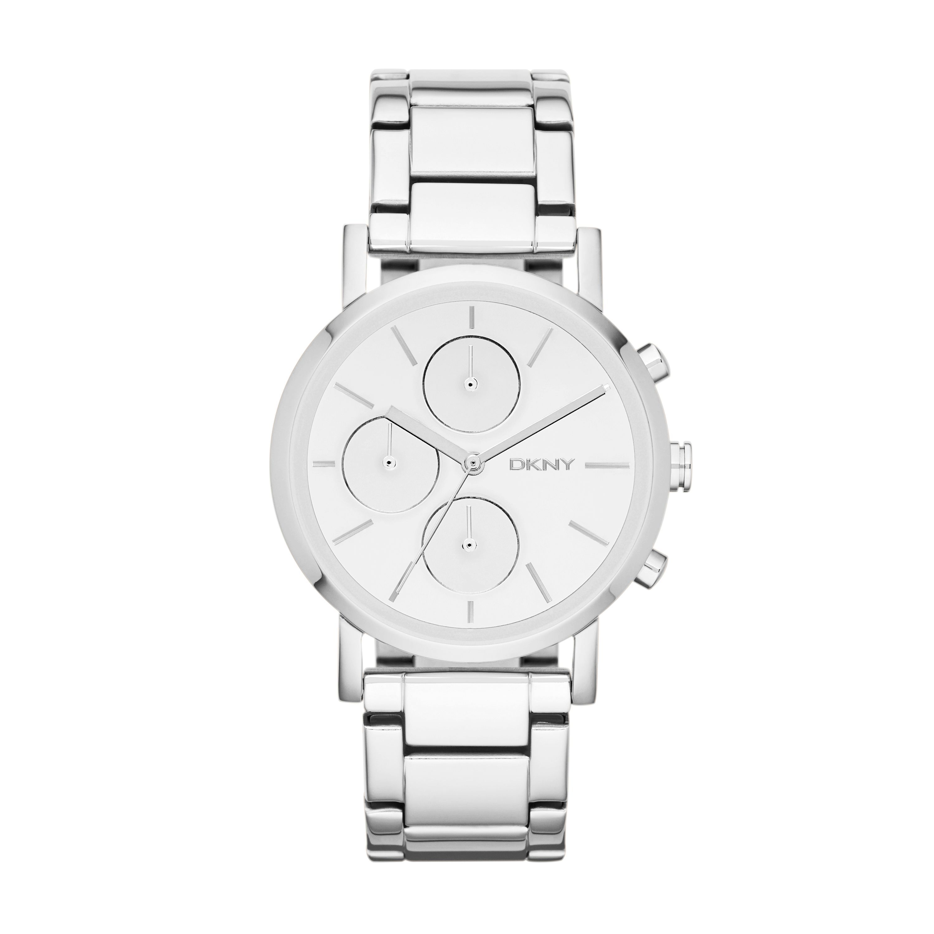 NY8860 Chic Silver Ladies Bracelet Watch