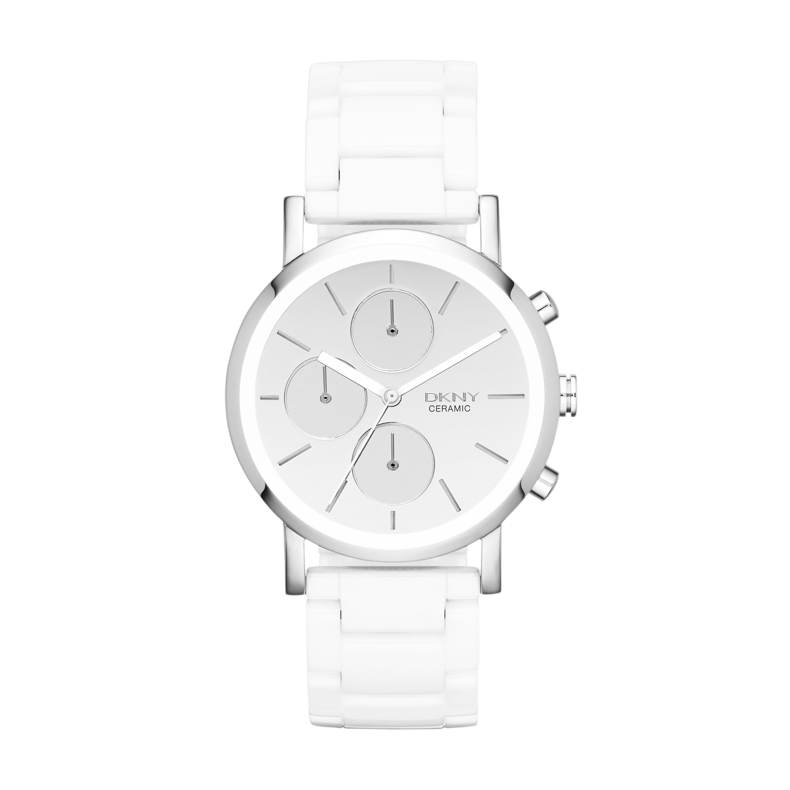 NY8896 Ceramic White Ladies Bracelet Watch