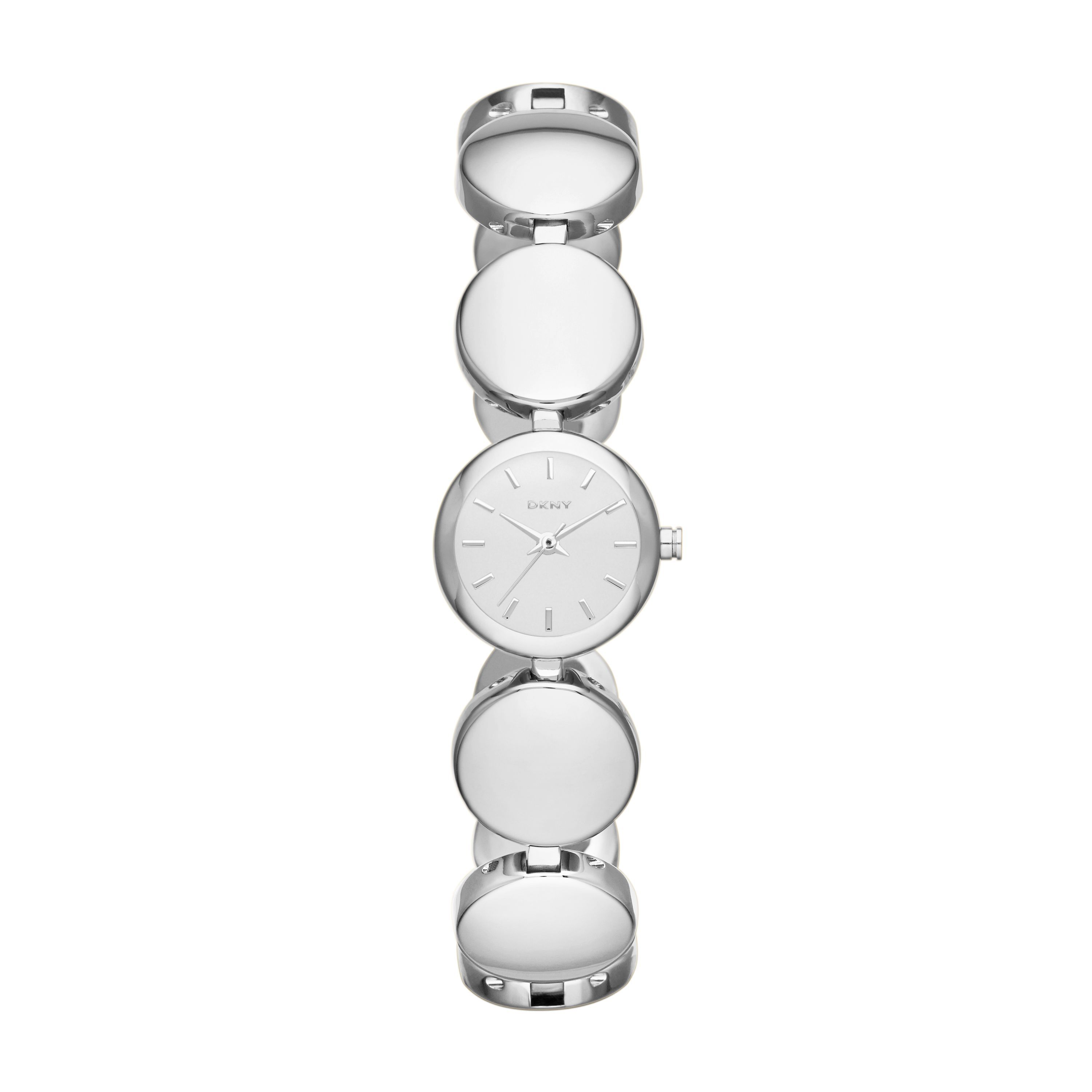 NY8866 Essential Silver Ladies Bracelet Watch